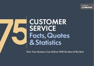 Book Cover: 75 Customer Service