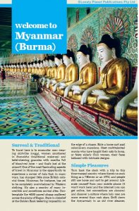 Book Cover: Welcome to Myanmar