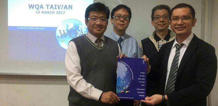 WQA Melebarkan Sayap ke Taiwan
