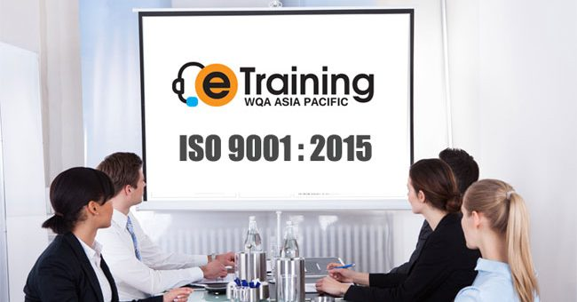 Workshop Online ISO 9001 : 2015 – eTraining