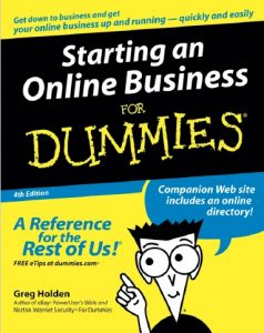Book Cover: Starting an Online Business