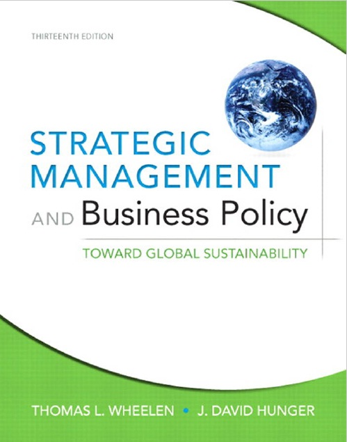 Book Cover: Strategic Management and Business Policy