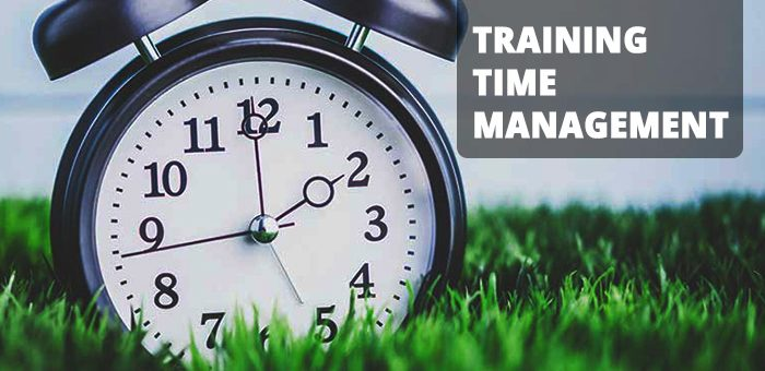 Training Time Management